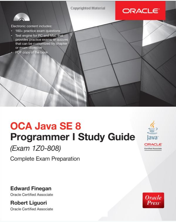 Top 5 Books Java 8 Certifications - 1Z0-808 (OCA) and 1Z0-809 (OCP ...