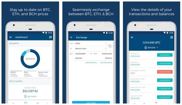 تطبيق Blockchain (محفظة البتكوين الاكثر آمانا )