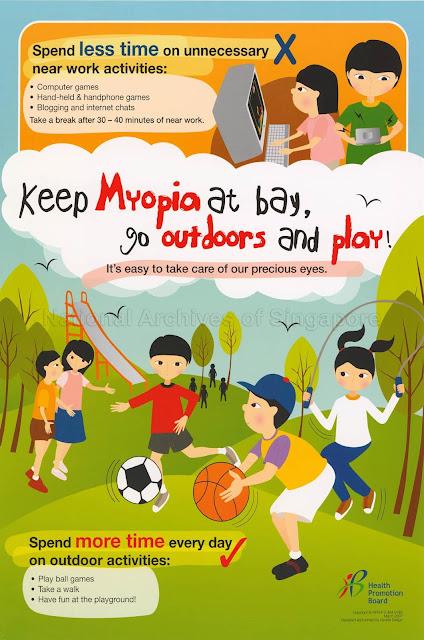 Outdoor activities for myopia