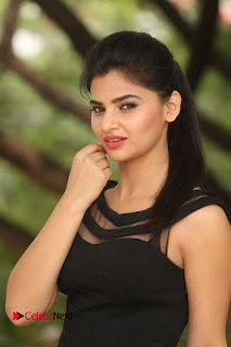 Actress Kamna Ranwat  Pictures in Black Short Dress at Selfie Raja Interview  0164
