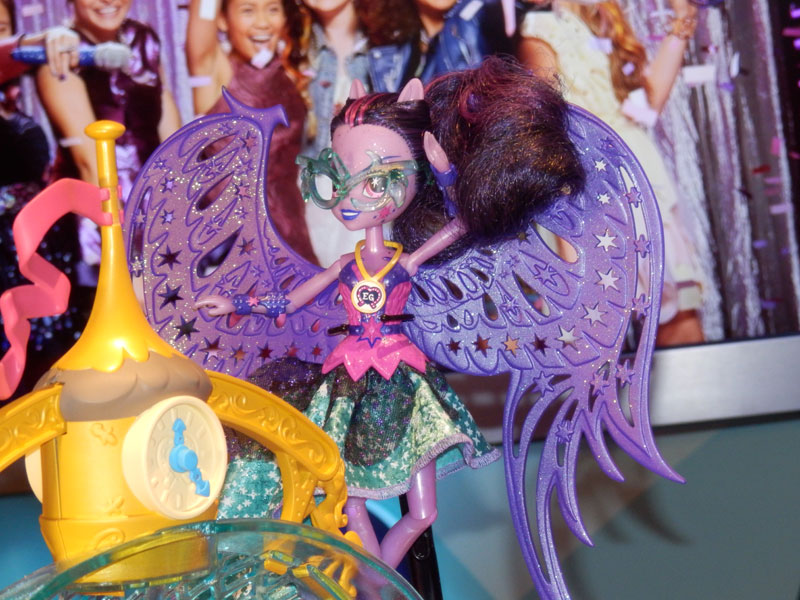 Equestria Girls Crystal Prep Midnight Twilight Sparkle Doll at NY Toy Fair 2015