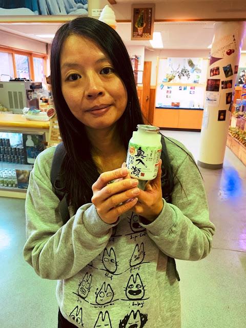奧入瀨溪的優酪乳