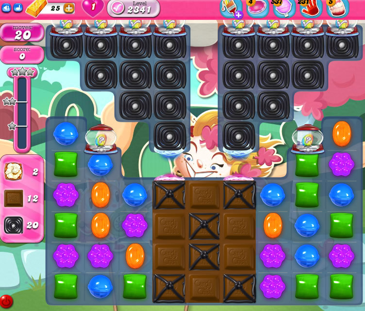 Candy Crush Saga level 2341