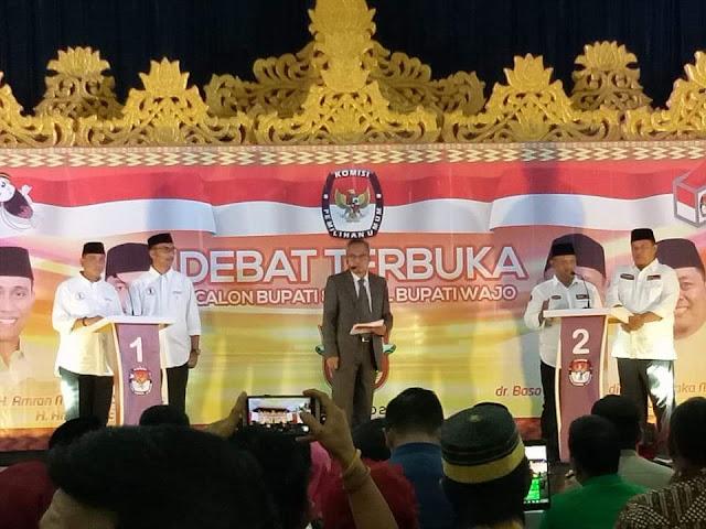 """Debat Publik: BARAKKA """"Bungkam"""" PAMMASE di Debat Pertama"""