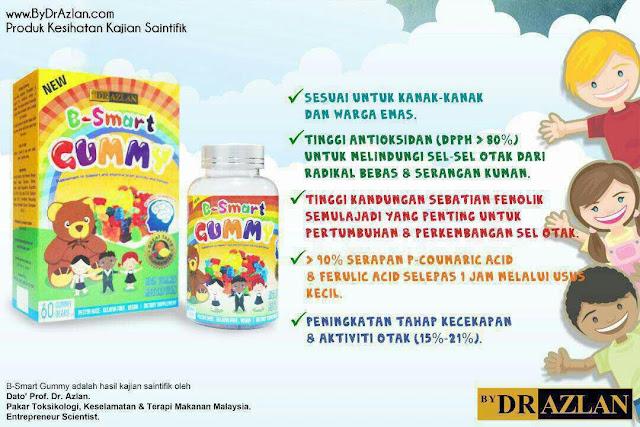 INFO B-Smart Gummy bydrazlan