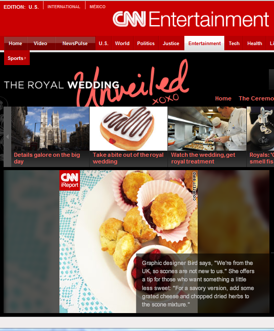 Our Royal Wedding Article on CNN Entertainment