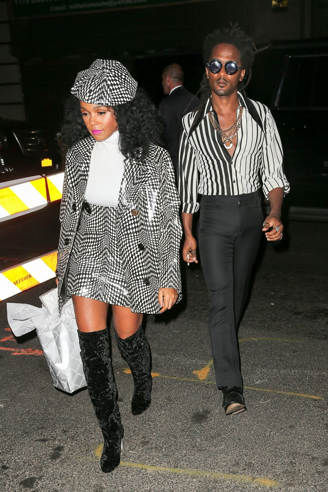 Janelle Monae at Beyonce's Birthday Party in New York