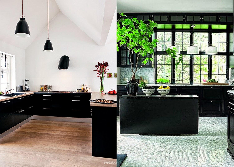 GYPSY YAYA: The Modern Bohemian Black Kitchen