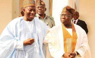 Jonathan greets Obasanjo at 82