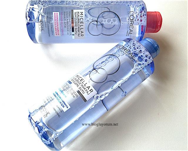 loreal paris skin expert  micellar kusursuz makyaj temizleme suyu
