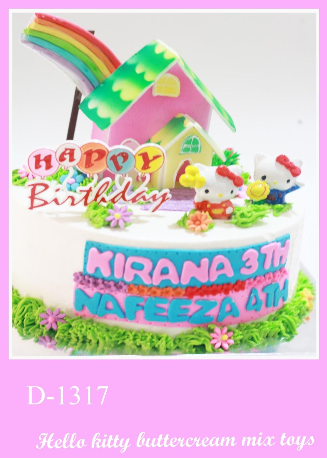Daniqa Cake And Snack Hello Kity Cake