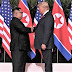 HISTÓRICO: Trump e Kim apertam as mãos em encontro inédito