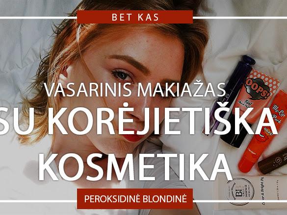 VASARINIS MAKIAŽAS SU KORĖJIETIŠKA KOSMETIKA