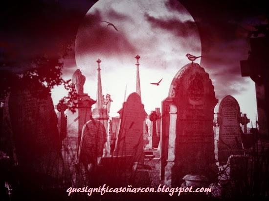 porque soñar con cementerio y tumbas