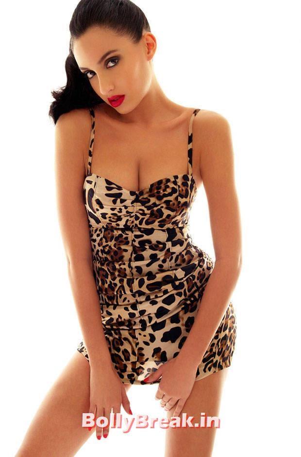 Nora Fatehi Hot Hd Photos In Sexy Dress 5 Pics