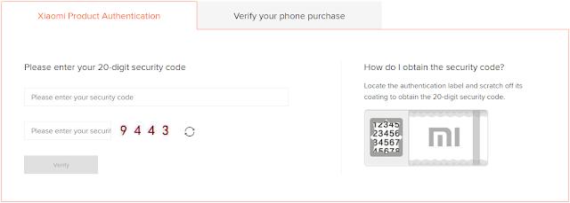 Website Resmi Xiaomi