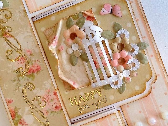 Tarjeta romántica con mensaje oculto