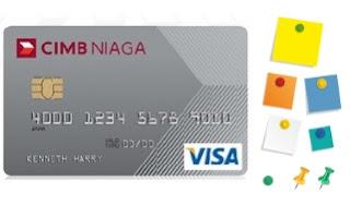 Design kartu kredit cimb niaga visa classic