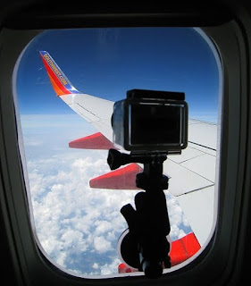 GoPro Mount on Plane Window