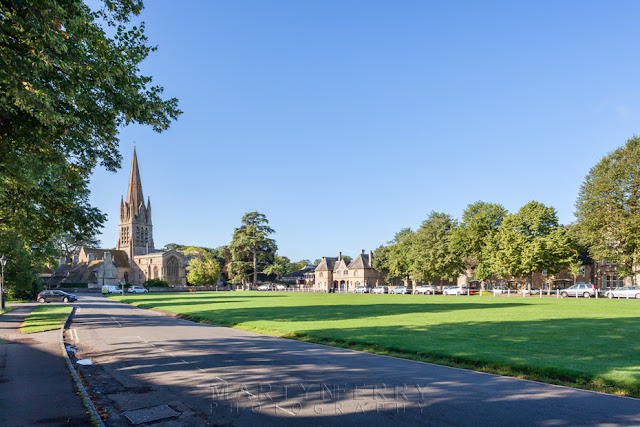 ST Mary's church in the Cotswold market town of Witney by Martyn Ferry Photography