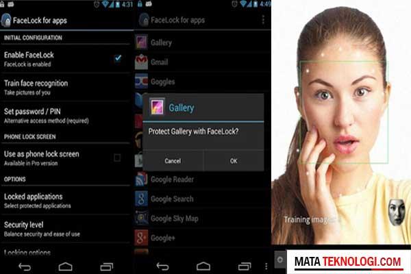 Kunci Layar Android Dengan Wajah