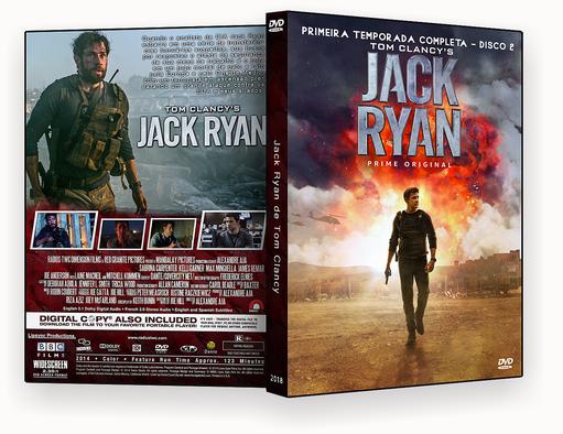 CAPA – Jack Ryan T01 D02 DVD-R AUTORADO