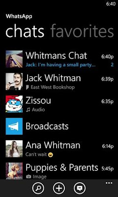 Download WhatsApp XAP For Windows Phone
