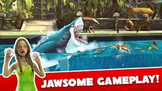 Hungry Shark World Mod Apk v2.1.8 Full version Terbaru
