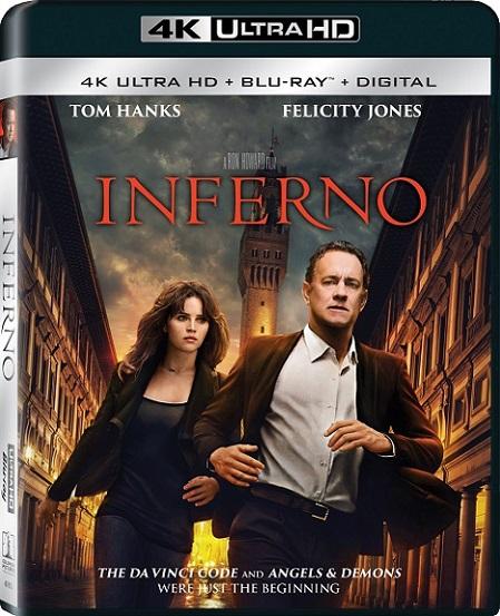 Inferno 4K (2016) 2160p 4K UltraHD HDR Blu ray REMUX 42GB mkv Dual Audio Dolby TrueHD ATMOS 7.1 ch