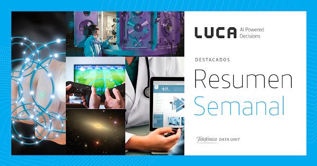 Esta semana en el blog de LUCA: Del 11 al 17 de Marzo