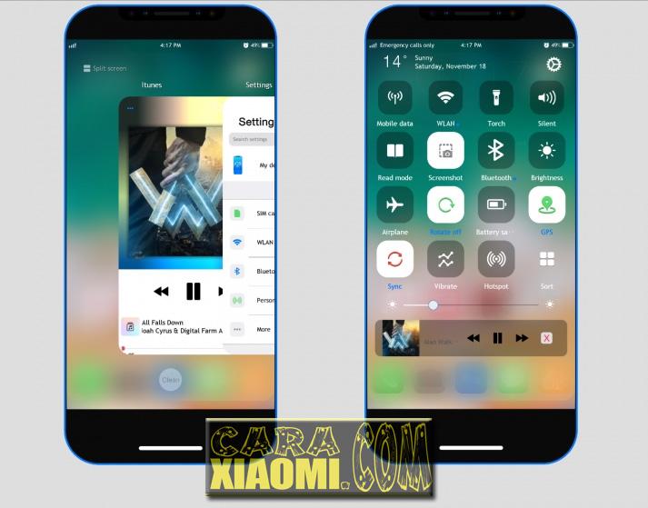 Download Tema iOS Iphone Untuk HP Xiaomi MIUI Terbaru