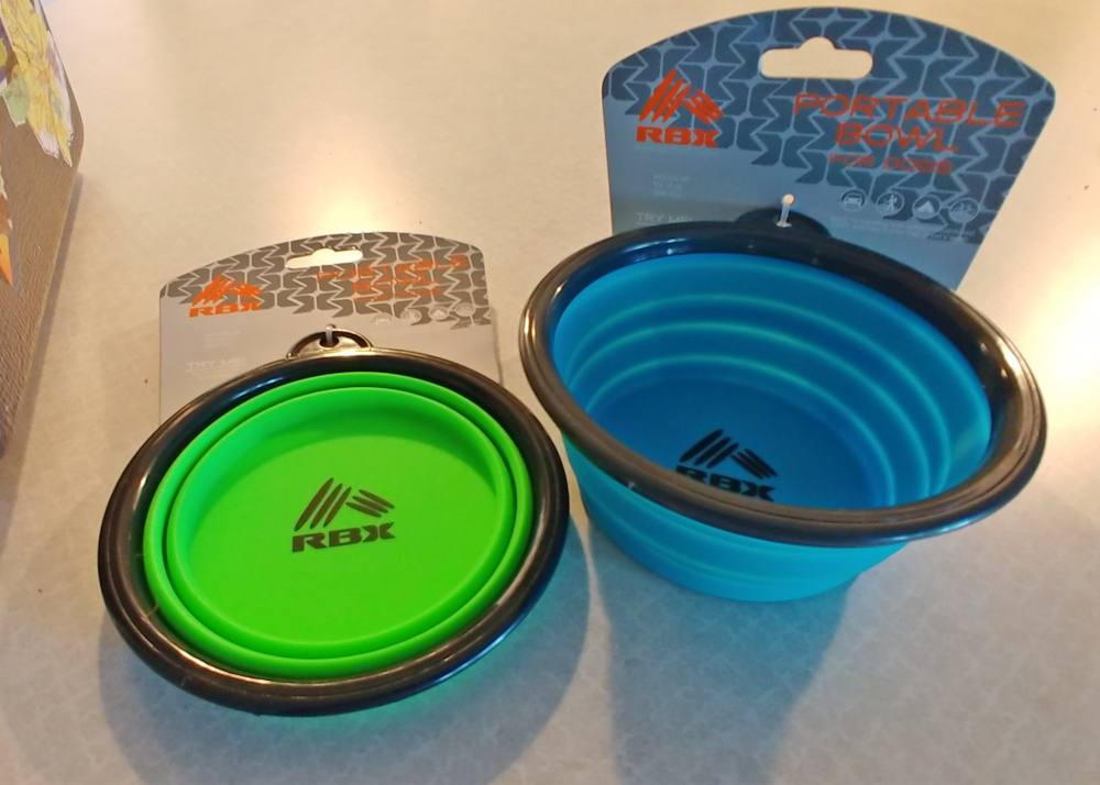 collapsible pet food bowls