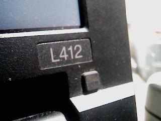 Get Into BIOS Lenovo L412