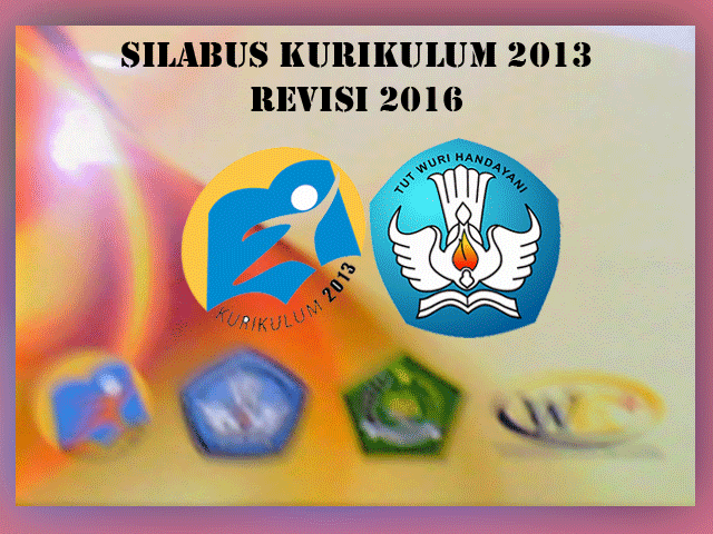Silabus SD Kurikulum 2013 Semua Mapel Revisi Tahun 2016