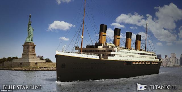 titanic II kapal yang paling besar dan paling mewah yang akan rilis tahun ini