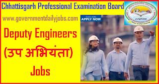 CG Vyanam Deputy Engineer Recruitment 2018-19 Apply Online 139 Assistant Engineer
