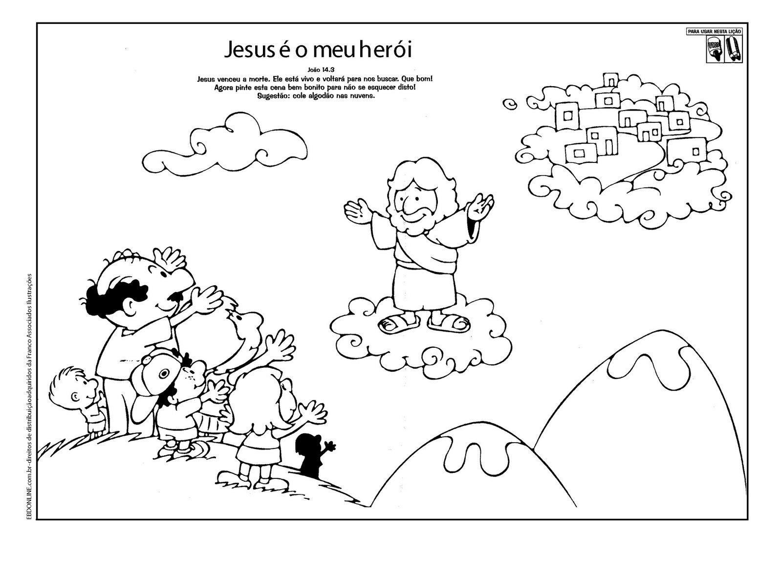 Famosos Blog da Tia Jaque: Atividades Bíblicas Variadas KQ67