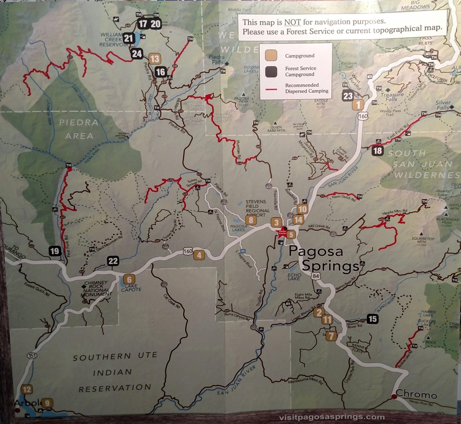 Sock Monkey Trekkers: Soaking in Pagosa Springs Colorado.