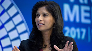 Gita Gopinath becomes the first female Chief Economist of IMF