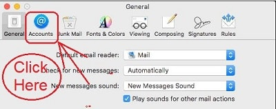 Exclamation Point In Mail App On Mac