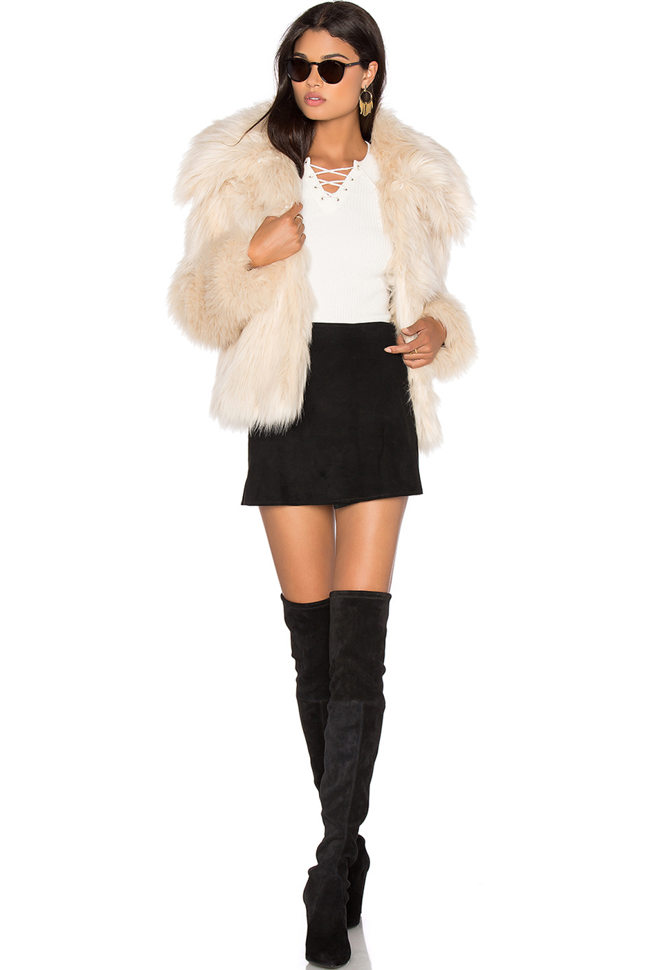 30 FAUX FUR COAT LPA