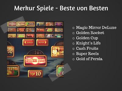 Merkur Gaming von OnlineCasino HEX Deutschland