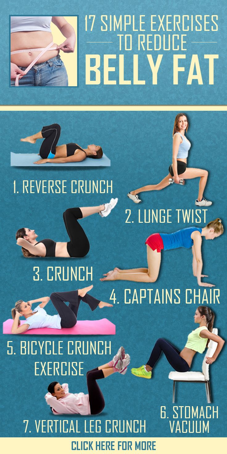 How to lose tummy fat exercises