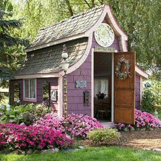 Pinterest Garden Sheds: Garden Potting Sheds