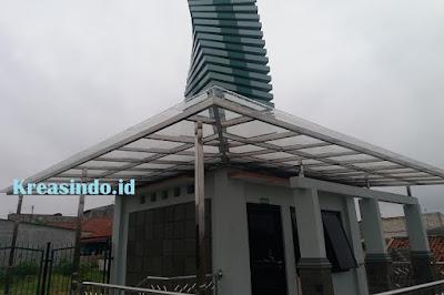 Harga Berbagai Macam Canopy Stainless Minimalis Terbaru