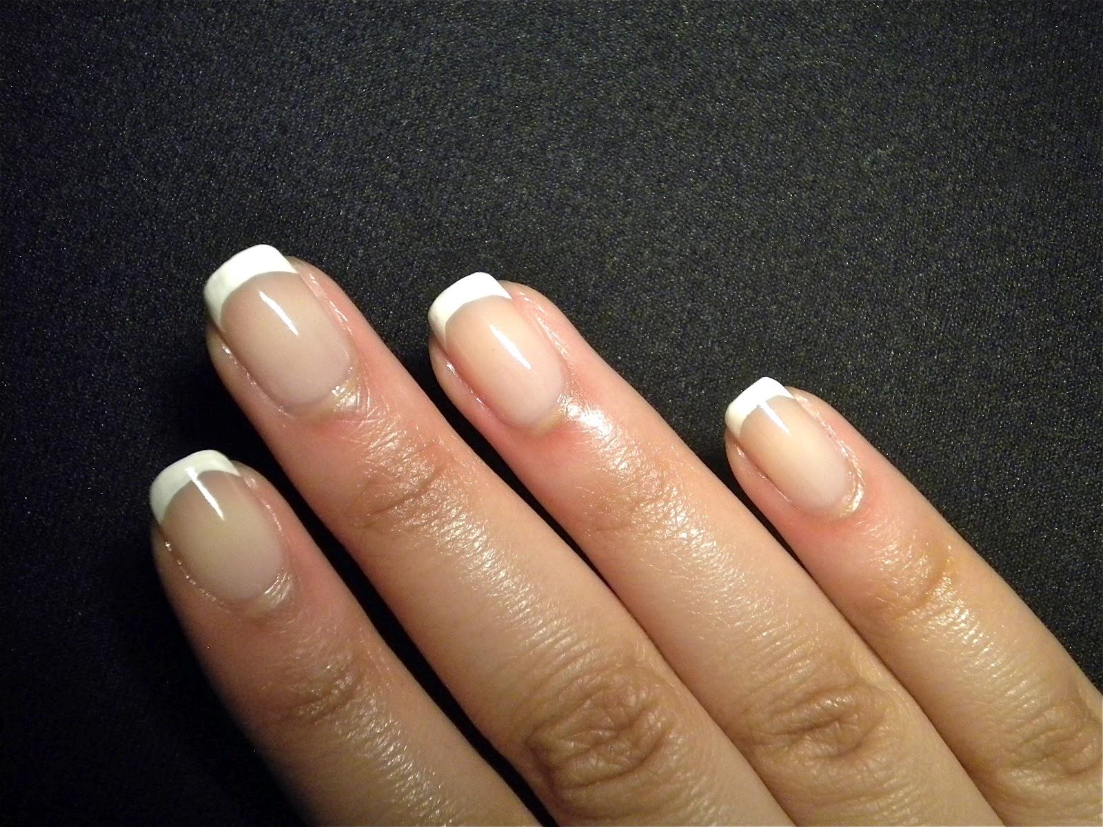 Something Polished: Simple French Manicure