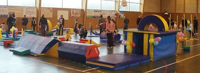 Les activités du Baby Gym au gymnase