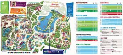Mappa Leolandia 2018