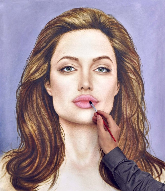 15-Angelina-Jolie-Stefan-Pabst-3D-Optical-Illusions-Drawings-and-Paintings-www-designstack-co