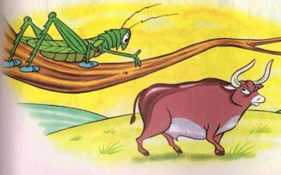 fabula corta el buey la cigarra y la hormiga